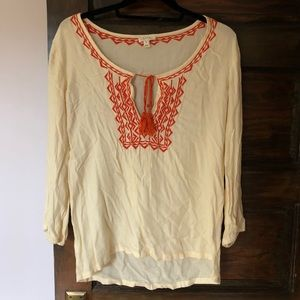 Soft joie Embroidered Shirt